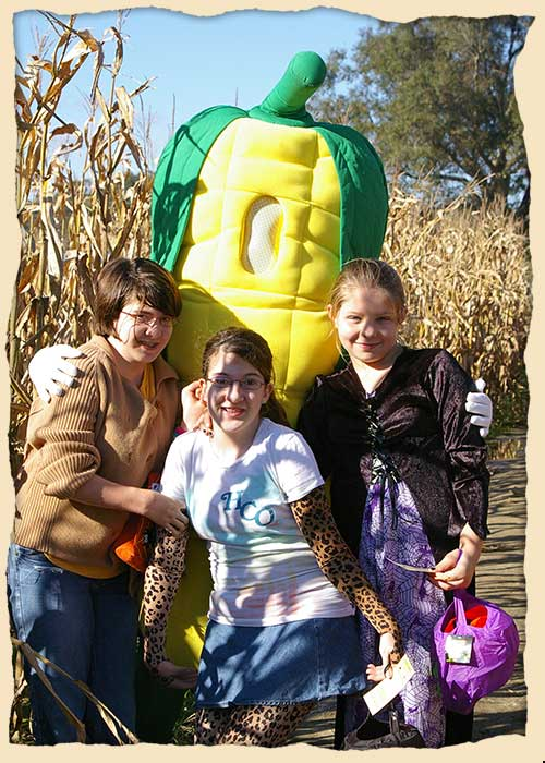 Scout groups, churches, families, and groups of friends all have a fun day at Seward Farms and Corn Maze, Tanner Williams Road in Lucedale, Mississippi and Alabama