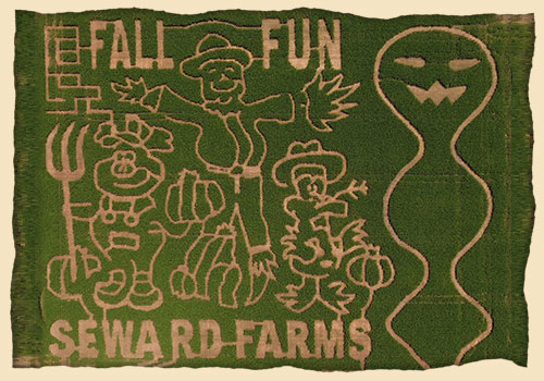 Seward Farms and Corn Maze, Tanner Williams Road in Lucedale, Mississippi